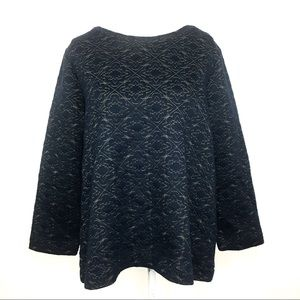 LOFT Quilted Sweater
